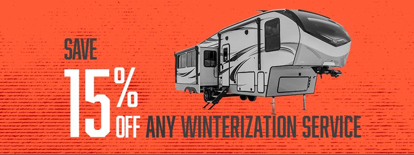 Winterization Sale image