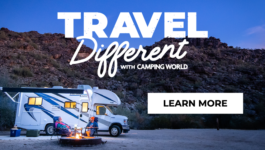 Travel Different with Camping World