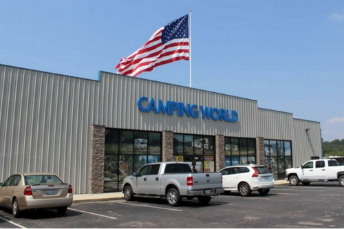 Knoxville Camping World Rv Dealer Service Center And Gear