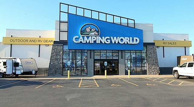 Great Camping World Of Little Rock Is Located Off Interstate 40 At Exit 161 In  North Little Rock, Arkansas. Our 14 Acre Lot Has Over 270 Units.