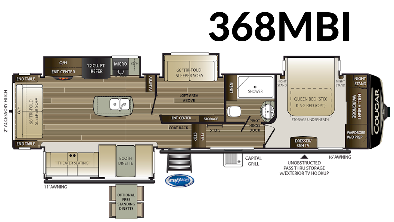 368MBI Floorplan