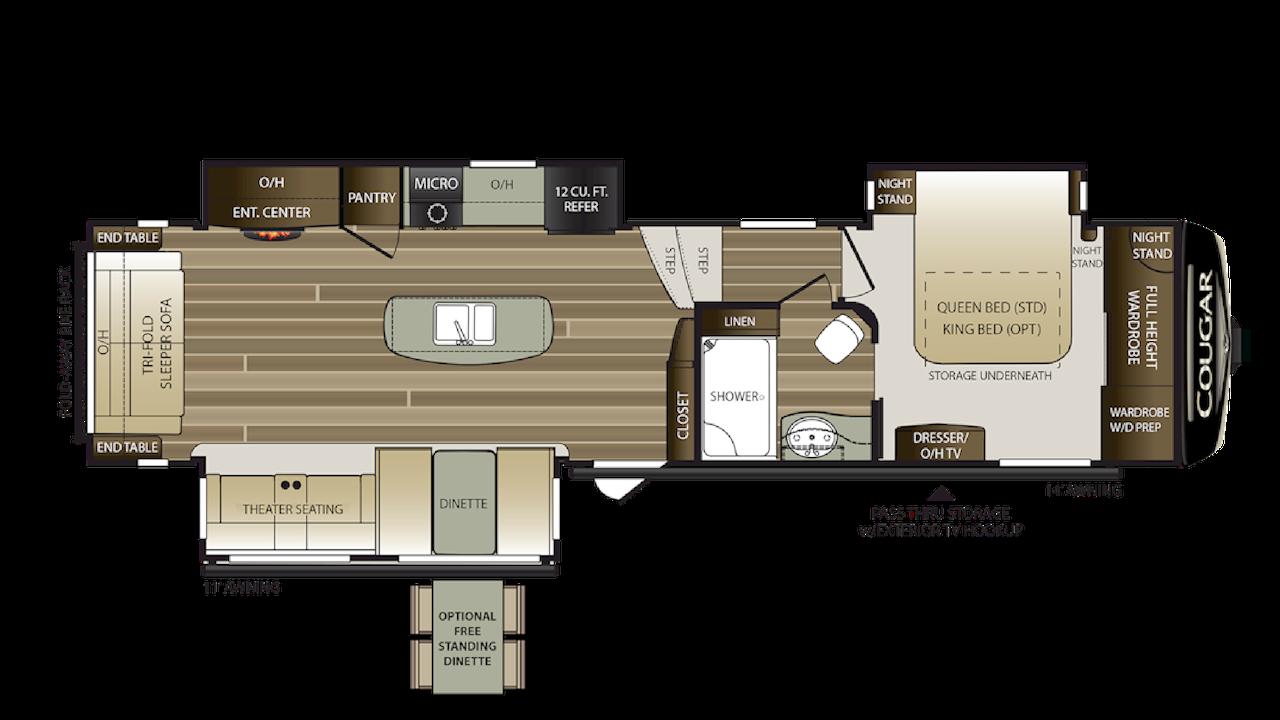 344MKS Floorplan