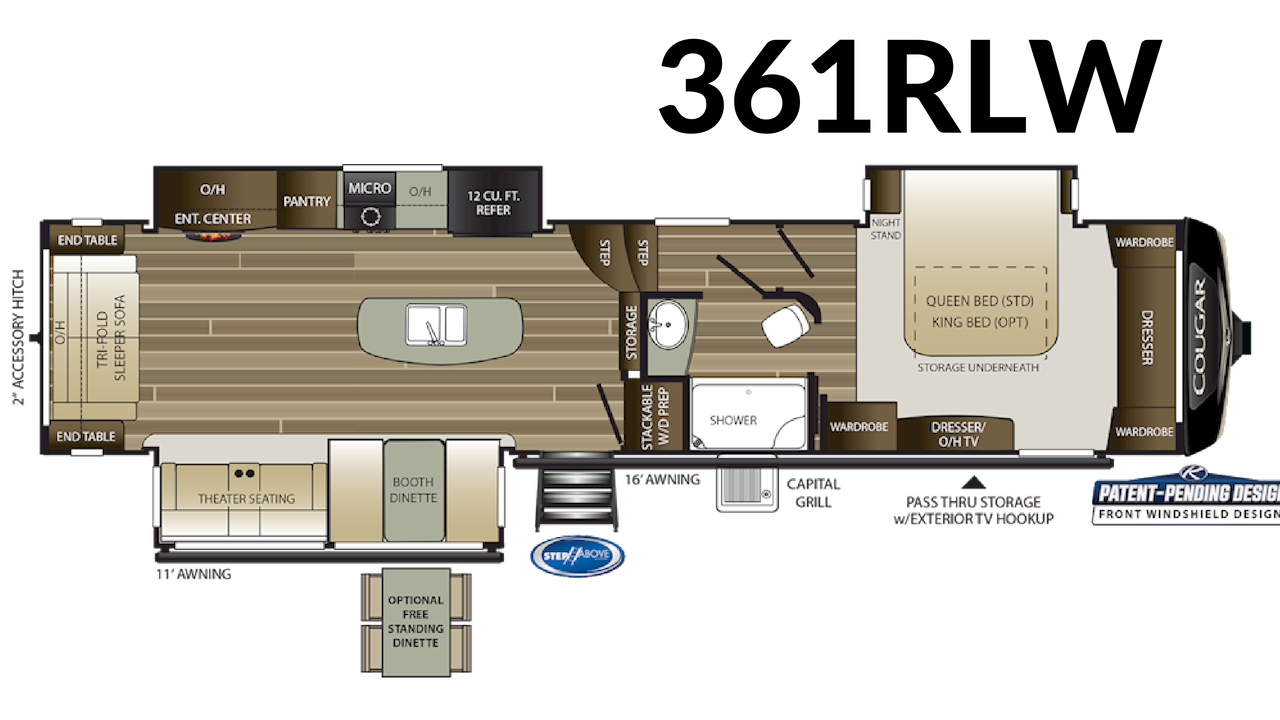 361RLW Floorplan