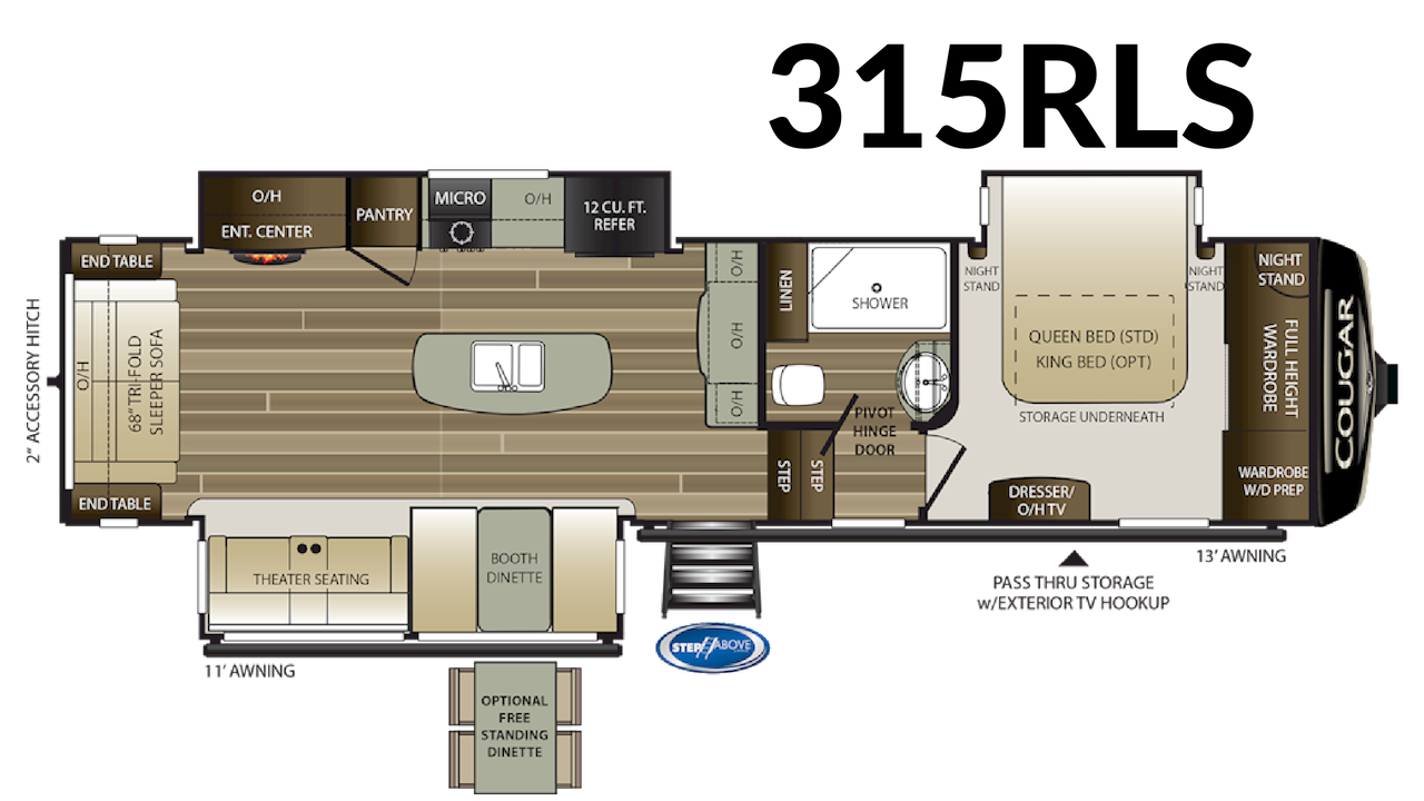 315RLS Floorplan