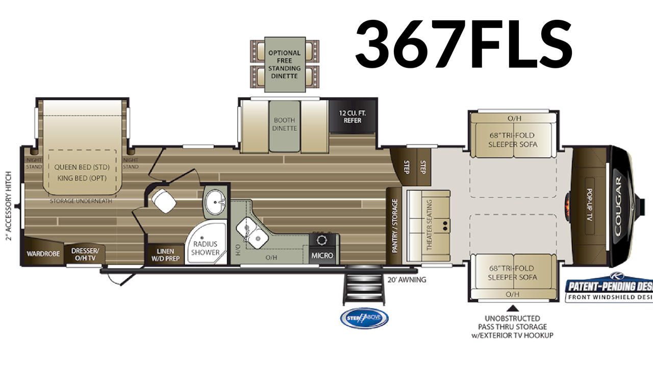 367FLS Floorplan